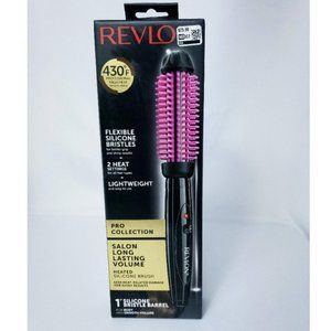 """Revlon Pro Collection 1"""" Heated Silicone Brush"""